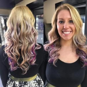 pink and purple by sarah