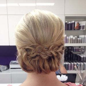 updo by sarah