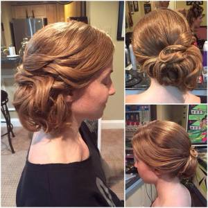 updo by steph